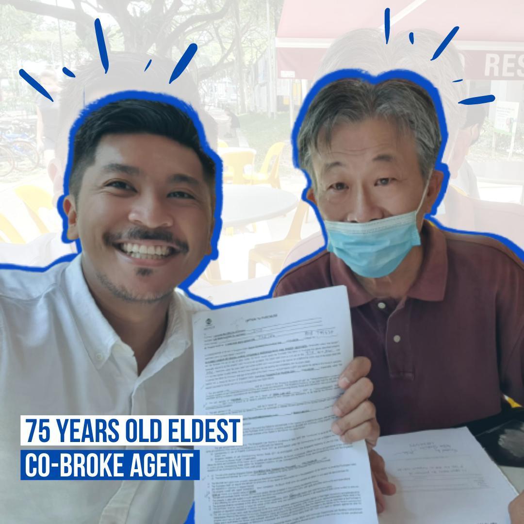75 yrs co broker herohomessg