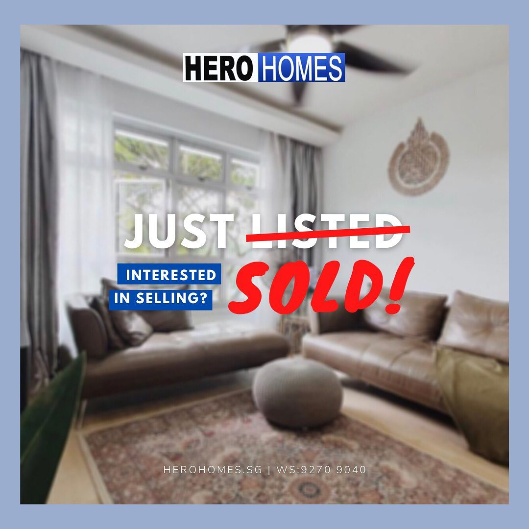 Sold in Day One HeroHomesSG
