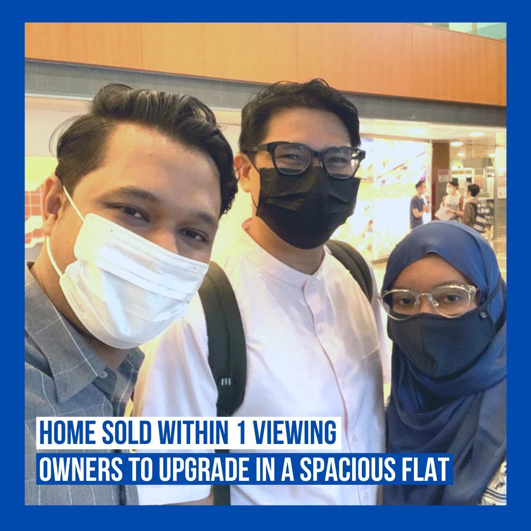 upgrade in a spacious flat herohomes