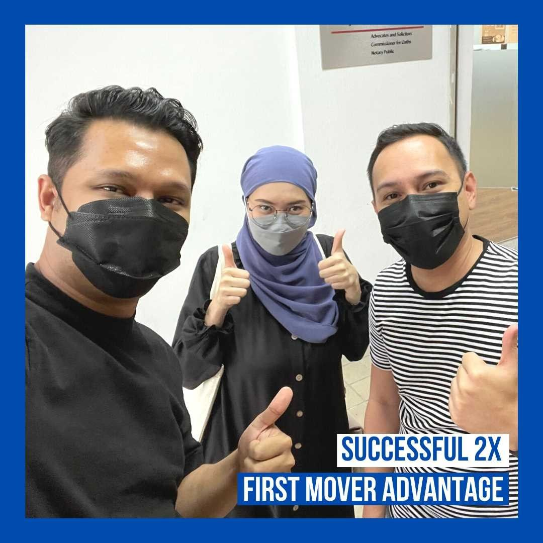 2x first mover herohomes
